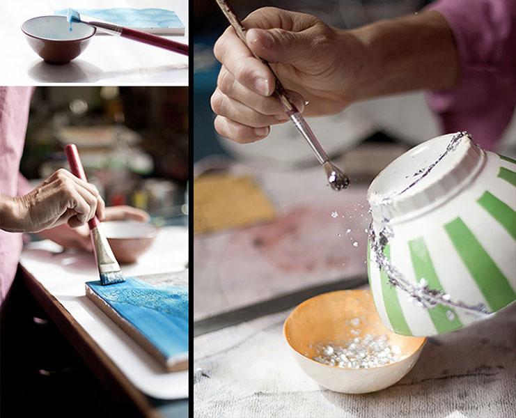 artiste-laqueur-dominique-humbert-savoir faire gintsugi
